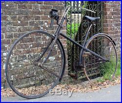 1888 SHARRATT & LISLE CROSS FRAME SAFETY BIKE Original Vintage Antique Bicycle X