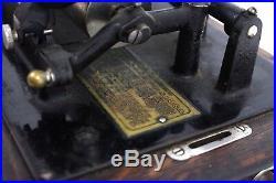 1903 Thomas Edison Standard Phonograph 100% Original Antique