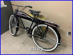1949 JC Higgins Elgin 26 Color Flow Mens Bicycle-Vintage Antique Bike With Horn