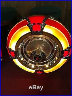 1980's Jukebox Wall Speakers Light-Up 32 Antique Jukebox Co. Watch Video