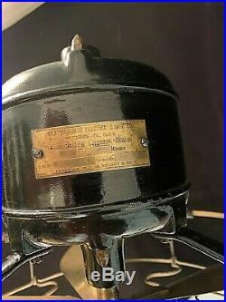 Antique 12 Westinghouse #15675A Vane Oscillator Fan