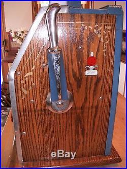 Antique 1930's MILLS CASTLE FRONT 10 CENT SLOT MACHINE Beautiful Piece