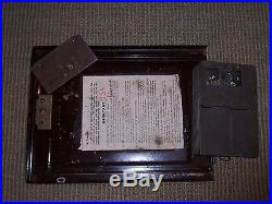 Antique 1930's Mills War Eagle 5c Nickel Slot Machine Jackpot Payout Original
