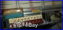 Antique (1954) Seeburg Select-O-Matic 100 Jukebox, Shows Cool, Needs Work