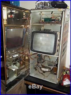 Antique 1986 Igt 25 Cent Draw Poker Working Slot Machine