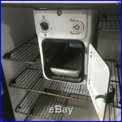 Antique 30s Norge Rollator Refrigerator Porcelain Fridge Kitchen Cooler CAN SHIP