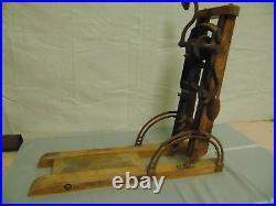 Antique Barn Beam Boring Machine
