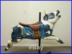 Antique Carousel Dentzel Pig