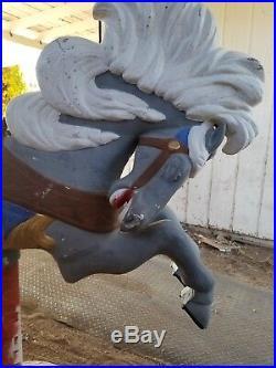 Antique Carousel horse Coca Cola Base