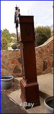 Antique Cherry Wood ELLIOTT LONDON Grandfather Clock