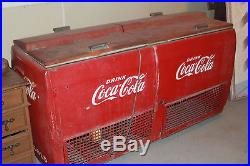 Antique Coca Cola REFRIGERATOR Unique Store Decor