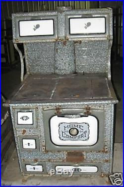Antique Enamel Home Comfort Kitchen Stove Movie Prop