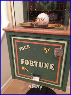 Antique Fortune Teller Completely Restored WOW