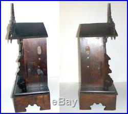 Antique German Black Forest Shelf Mantel Cuckoo Clock