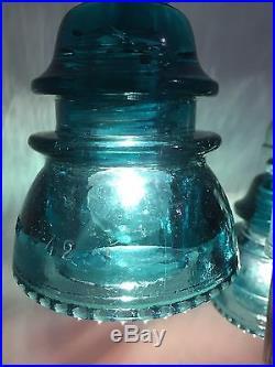 Antique Glass Insulator Lamp