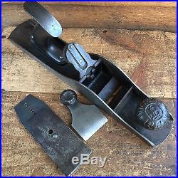 Antique LEONARD VICTOR BAILEY #5 PLANE Vintage Old Handplane Hand Tool #191