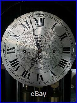 Antique Nine Tubular Herschede Grandfather Clock