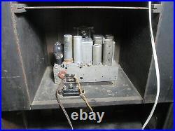 Antique Philco Radio Bar console tube radio restored and working