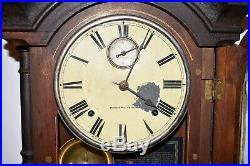Antique SETH THOMAS CLOCK Fashion 4 Southern Calendar Co Shelf Mantle Clock 1875