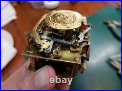 Antique Singing Bird Box Automaton Music Box (watch Video)