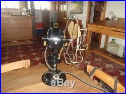 Antique Vintage Marelli Ghibli Electric Fan with axle shaft