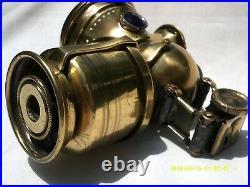 Antique Vintage Motorcycle Highwheel Bicycle Headlamp Light Prewar Accessory