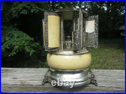 Antique Vintage Reuge Music Box Cigarette Cigar Lipstick Dispenser Lara's Theme