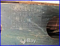 Antique Zenith vintage tube radio restored and working