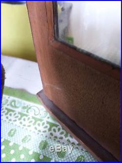 Antique dutch long tale clock 1850 RARE great condition