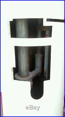Antique gas pump, visible, fuel, petroleum, gas hand pump, vintage FREE SHIPPING