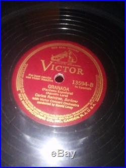 Antique victrola records Barbiere Di Sliviglia-Largo AL FACTOTUM  Room for the