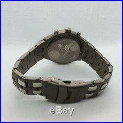 Collectible Rare Vintage Designer Gruen Men Wrist Watch Round Face Metal Band
