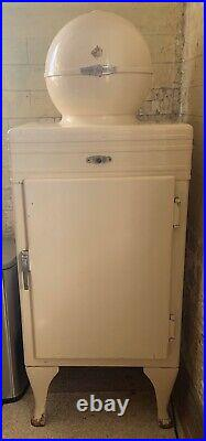 GE General Electric 1930s Antique Globe Monitor Refrigerator OH/WV/PA Works M4C