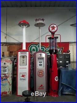 Gimore Gas Pump with Light Antique Gas Pump Vintage