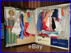 HUGE Vintage Barbie Collection 1960's BARBIE & Clothing, Accessories & Case Lot