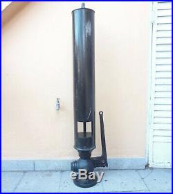 Large Tallest 49´´ S&b 1880 65 Lbs Antique German Train Ship Organ Steam Whistle