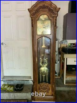 Lot of 10 antique/vintage grandfather clock