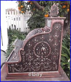 Model 311 professionally restored NCR cash register antique copper