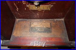 Original Antique Seth Thomas No. 2 Regulator Clock Single Weight Driven 1913-21