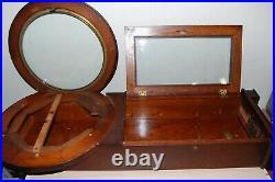 Original Antique Seth Thomas no. 2 weight driven regulator wall clock Case