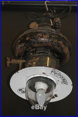 Petromax factory loft light vintage lamp antique steampunk gas German steam