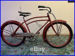 Prewar 1936 Colson Flyer Bicycle Schwinn Antique