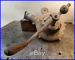 Professionally Restored Antique Blacksmith Forge Blower