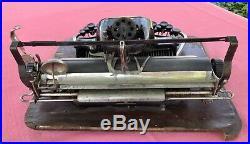 RARE Antique Blickensderfer Stamford No. 7 Typewriter 1893 Nice