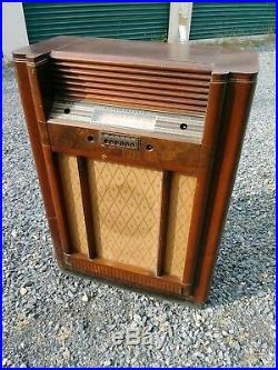 RARE antique Westinghouse console tube radio shortwave