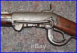 Rare 1856 U. S. CIVIL War Burnside Cavalry Carbine Genuine Antique Wall Hanger