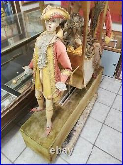 Rare Antique Animated Mechanical Victorian Store Window Display Automaton Xmas