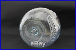 Rare Antique Halloween Glass Jack O Lantern Jol Candy Container Bail Handel