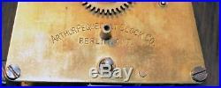 Rare Arthur Pequegnat Regulator No. 1. Antique Canadian Clock