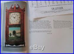 Rare Miniature Erastus Hodges Antique Pillar & Scroll Mantel Clock